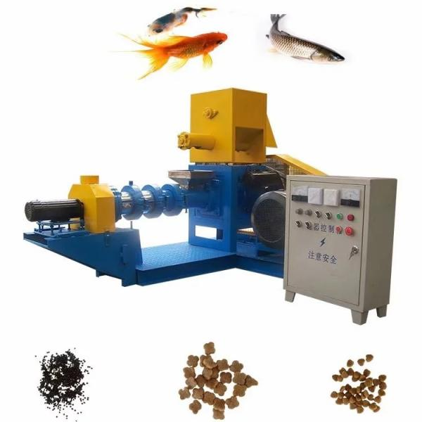 China Top Sale Automatic Fish Food Shrimp Feed Pellet Extrusion Manufacturing Machine.