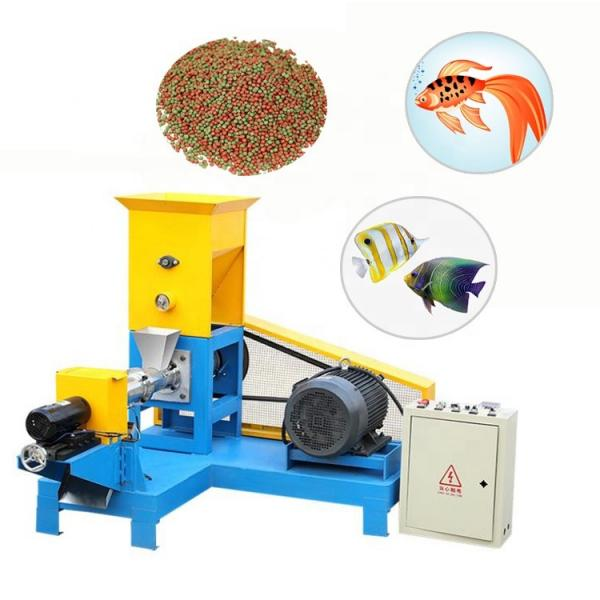 Automatic Floating Fish Feed Pellet Making Machine Feed Processing Machine